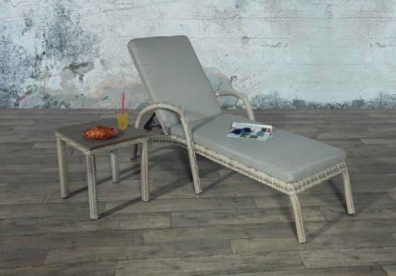 Porto Sun Lounger with table - Patio Loungers For Sale Dublin Ireland