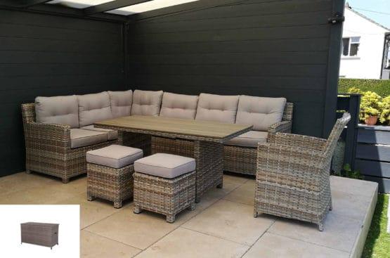 SeagullWithCushionBox - Outdoor Furniture For Sale Dublin Ireland