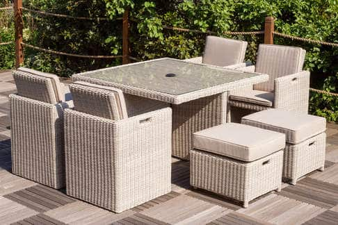 Seychelles 4 8 Seat Rattan Cube Set Limited Time Offer Garden