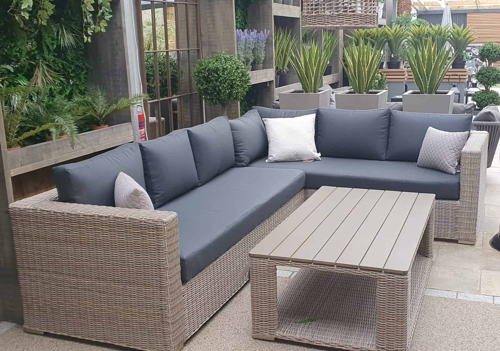 Valencia corner sofa - Outdoor Furniture For Sale Dublin Ireland