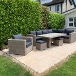 Valencia Outdoor Corner Sofa Set - Garden Furniture For Sale Dublin Ireland