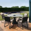 Fano 6-Seater Charcoal6 - Outdoor Furniture For Sale Dublin Ireland