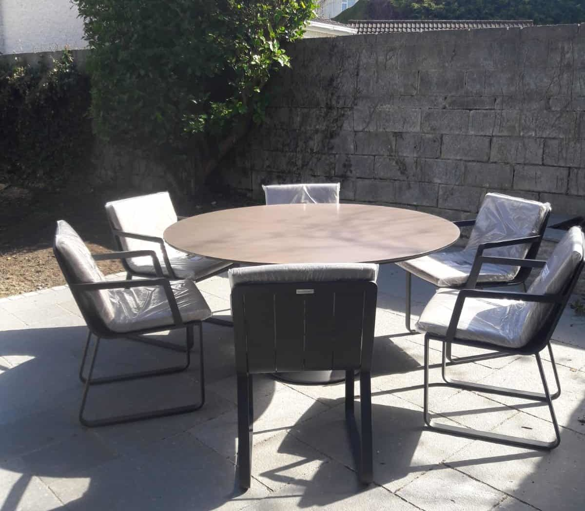 Fano 6 seater charcoal4 outdoor furniture for sale dublin ireland