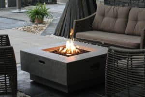 New York Outdoor Gas Fire Pit