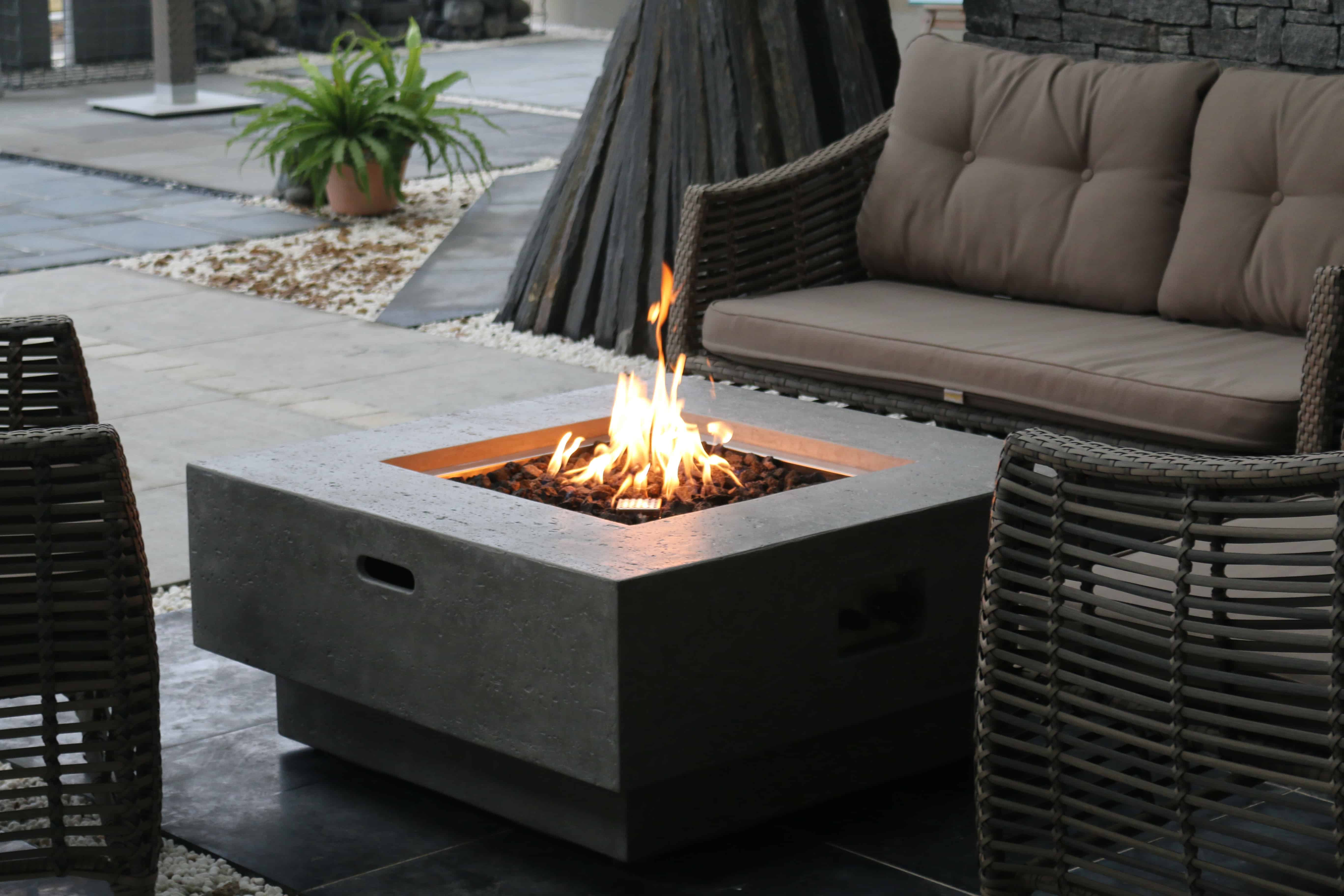 New York Outdoor Gas Fire Pit Outdoor Gas Fires Outdoor Heating Garden Furniture Barbecues Outdoor Ie