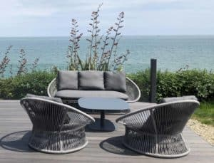 Spade Alu Round Rope Outdoor Furniture Collection