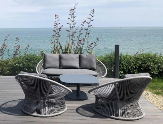 Spade Alu Round Rope Collection - Garden Furniture For Sale Dublin Ireland