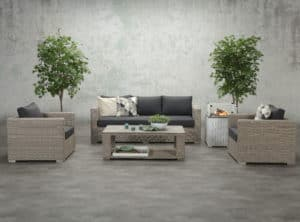 Valencia Outdoor Sofa Set (Opt. II)