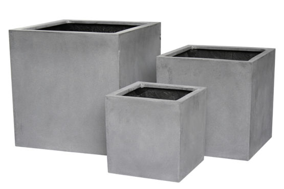 Oxford Square Fiberstone Planter Grey - Planters For Sale Dublin Ireland