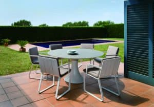 Fano 6-Seater White - Outdoor Furniture For Sale Dublin Ireland