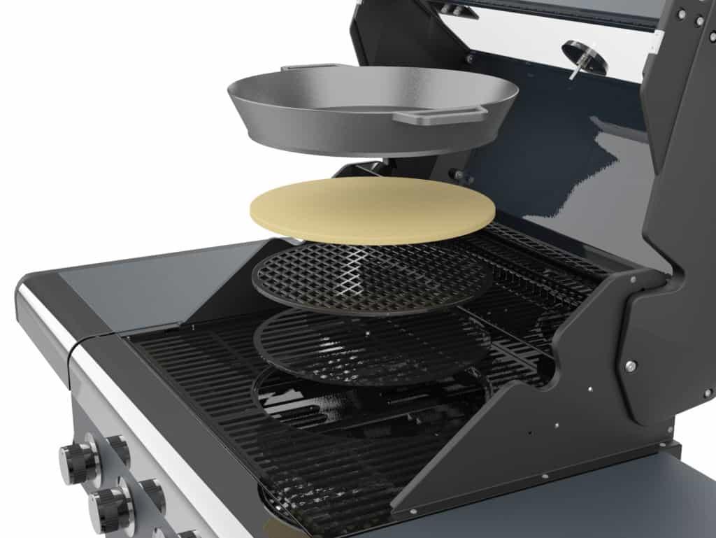 Sahara X475 barbecue inserts - Sahara barbecue _lifestyle_fold - Barbecues For Sale Dublin Ireland