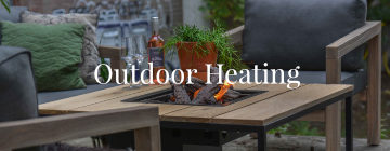 outdoor heating banner