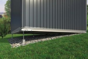 Ground Screw Foundation For Biohort Garden Sheds