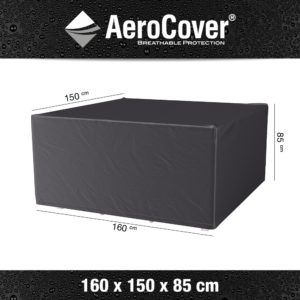 AeroCovers - Garden Furniture Set Cover Rectangular 160 x 150 x 85