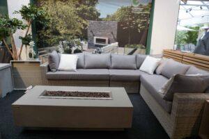 Patros Rattan Corner Sofa Set