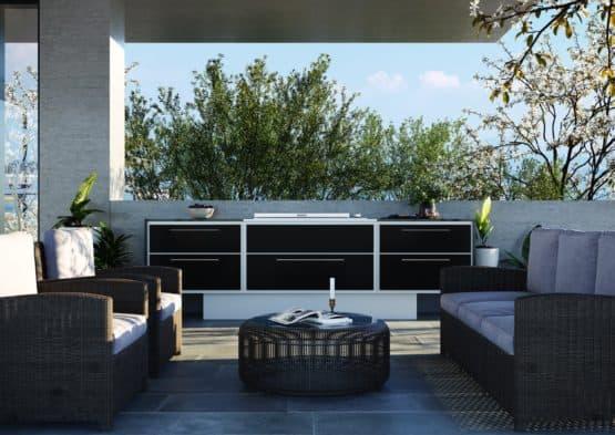 ProFresco Proline 6 Aero Outdoor Kitchen - Outdoor Kitchens Dublin Ireland