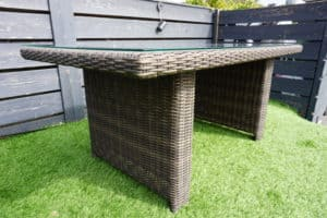 San Marino Table Sanded Brown - Garden Furniture For Sale Dublin Ireland