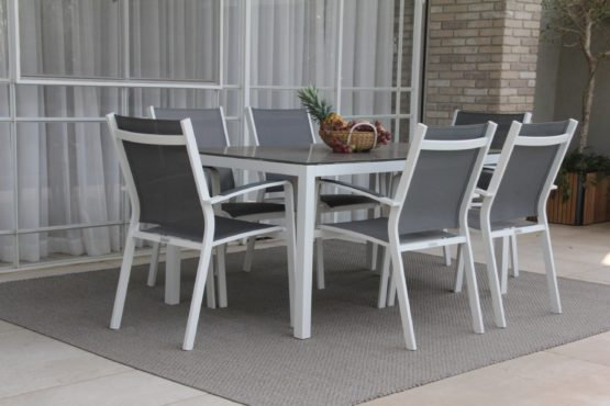 Lisbon Table and Cosmo Chairs - Garden Dining Sets For Sale Dublin Ireland