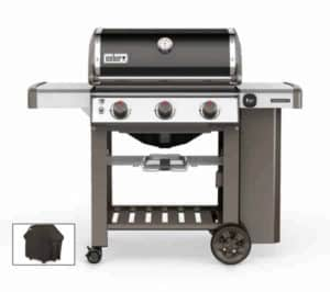 Weber Genesis II E-310 Black With Cover