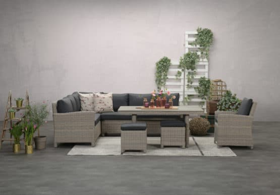 Zamora Outdoor Corner Sofa Set - Garden Furniture for Sale Dublin