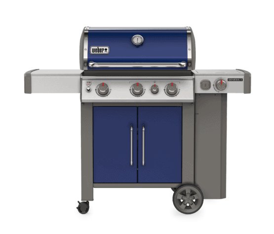 Weber Genesis EP335 Ocean Blue - Weber Gas Barbecues For Sale Dublin Ireland