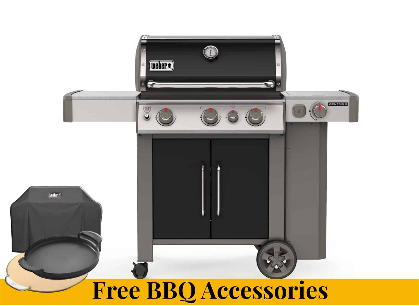 Weber Genesis II EP335 + Free BBQ Accessories For Sale Dublin Ireland