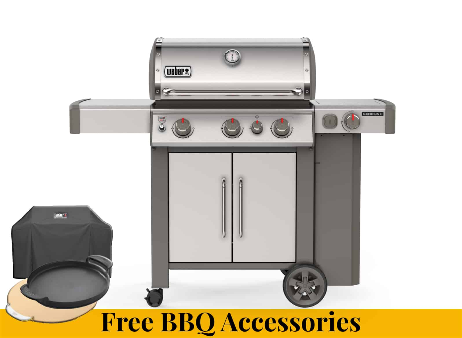 Weber Genesis II SP-335 + Free Accessories - Weber Barbecues For Sale Dublin Ireland