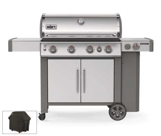 Weber SP435 & Half Price BBQ Cover - Weber Gas Barbecues For Sale Dublin