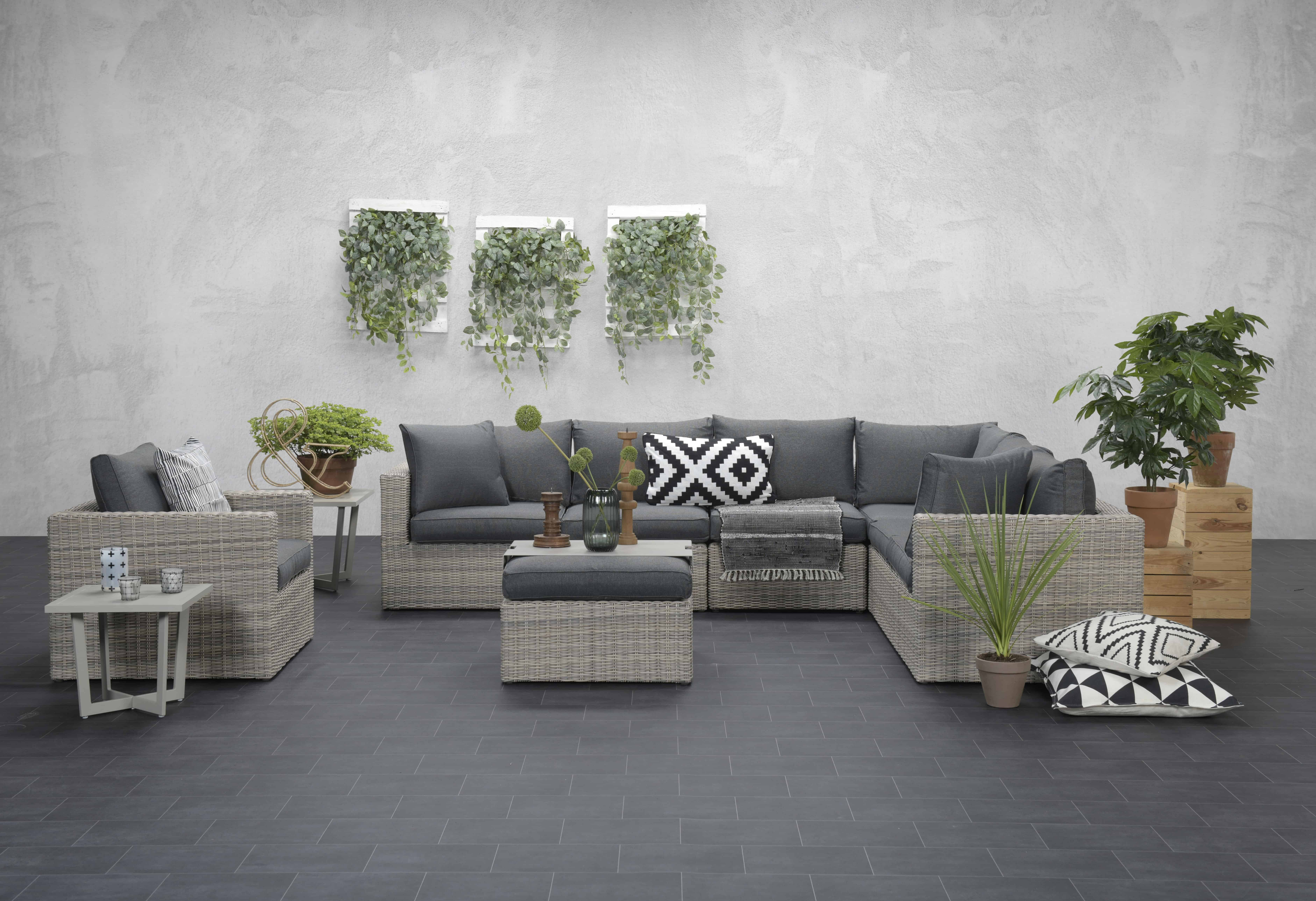 The Sousse Corner Sofa Set With Coffee Table - Garden Furniture For Sale Dublin Ireland