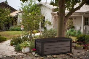 Brushed Outdoor Storage Box
