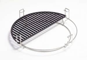 Kamado Joe Half Moon Cast Iron Cooking Grate