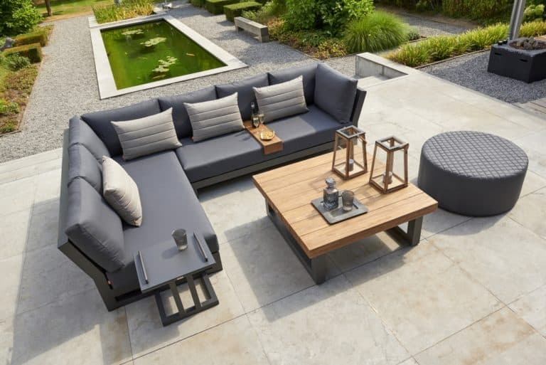 Marbella Two 3 Seater Open Sofas Left - Outdoor Furniture For Sale Dublin Ireland