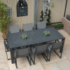 Toledo Outdoor Dining Table With 6 Belluno Chairs - Garden Dining Sets For Sale Dublin
