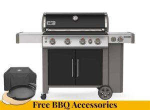 Weber Genesis II EP-435 + FREE BBQ ACCESSORIES
