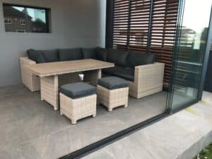 The Sousse Corner Sofa With High Table