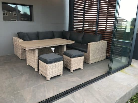 The Sousse Corner Sofa Set With High Table - Outdoor Furniture For Sale Dublin Ireland