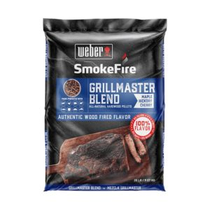 Grill Academy Blend All-Natural Hardwood Pellets For Weber SmokeFire