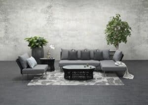 Tara Garden Corner Sofa Set Right