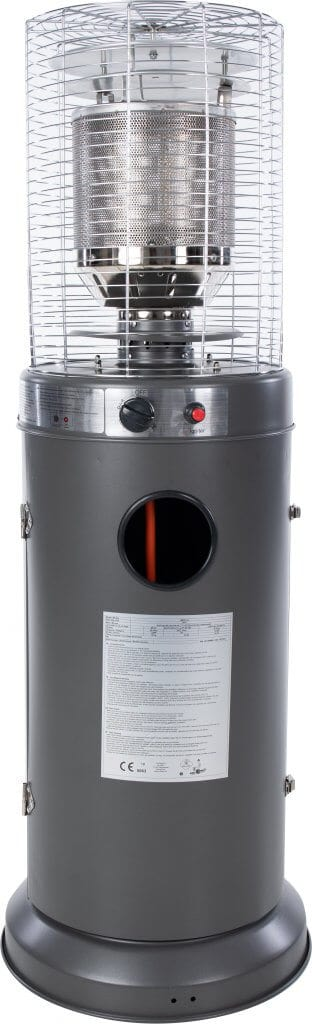 Propus Gas Patio Heater Grey - Gas Patio Heaters For Sale Dublin