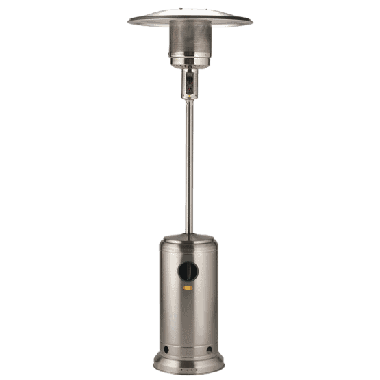 Edelweiss Stainless Steel Gas Patio Heater - Gas Patio Heaters For Sale Dublin