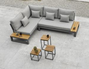 Soho Corner Set Collection Lava Carbon