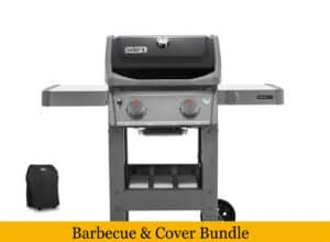 Weber Spirit II E-210 Gas Barbecue With Reduced Price Cover