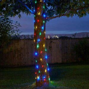100 Multi-Coloured Firefly Solar Strings
