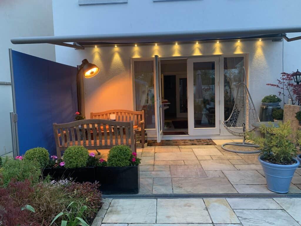Garden Awning Installation In Dublin Ireland