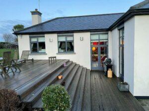 Dublin House Veranda Before Changes