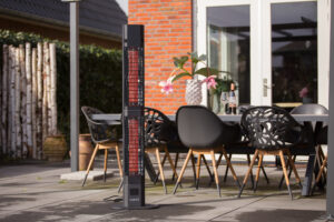 Sunred Heater Royal Diamond Dark Lounge Outdoor Heater 3000