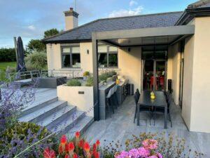 Louvered Patio Roof Installation In Dublin - Patio Roofs Dublin Ireland